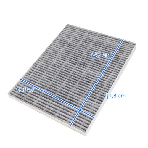 filtro hepa per aspiratore 100W, misure, colore bianco