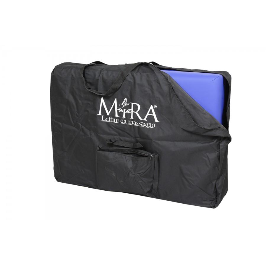 lettino pieghevole new relax 65, colore blu, in borsa da trasporto