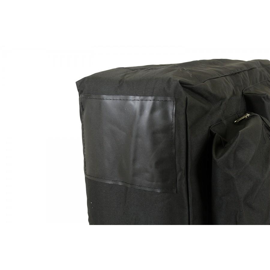 particolare del borsone porta lettino da massaggio
