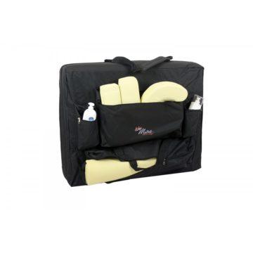 borsone per lettini da massaggio portatili, con tasche accessori e attrezzi