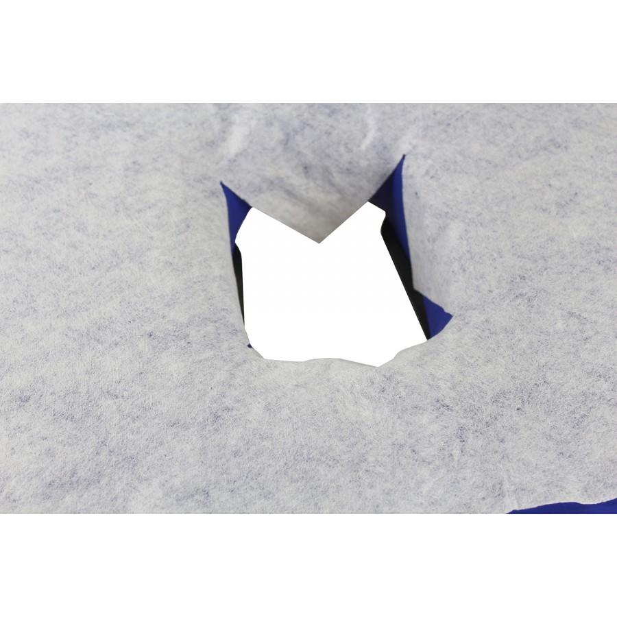 copri foro usa e getta su lettino da massaggio
