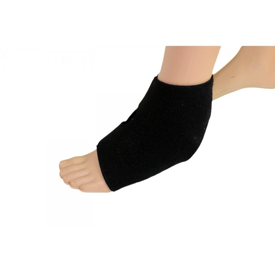 fasce piedi riscaldamento naturale, migliora la circolazione, flessibili, elesticizzate, taglia unica