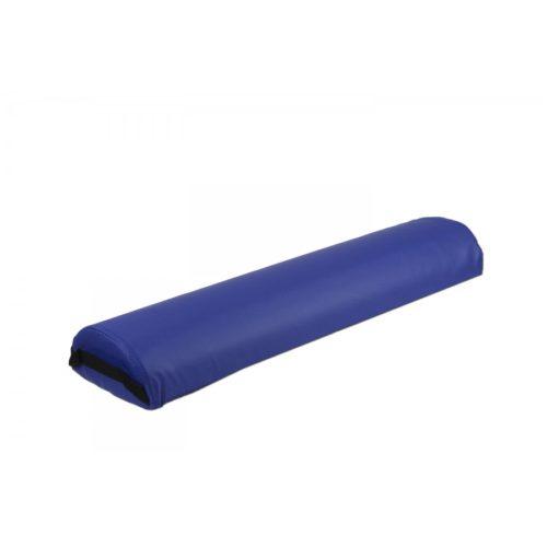 cuscino a mezza luna per lettini da massaggio, color blue