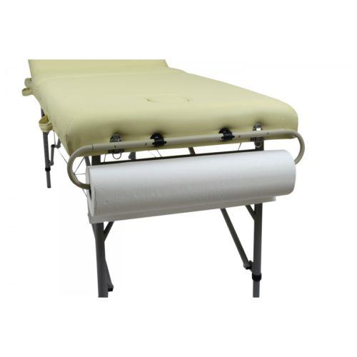 come posizionare il portarotoli per lettini massaggio e terapie