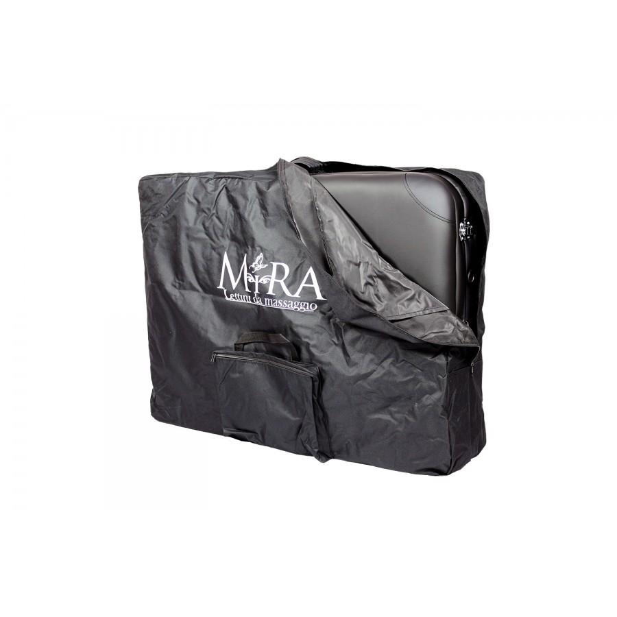 lettino chiuso in borsa da trasporto e conservazione