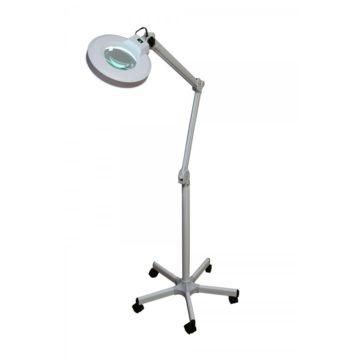 lampada 3 diottrie, con 5 ruote per lo spostamento