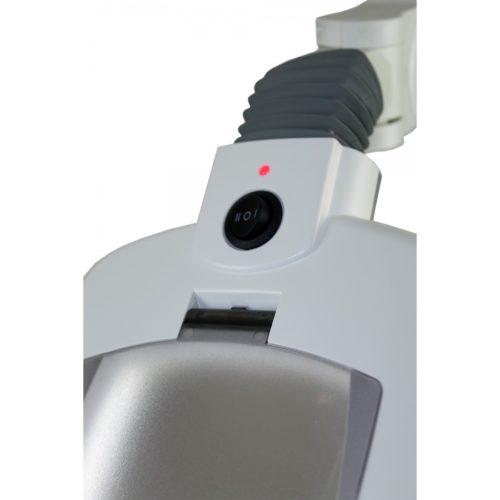 bottone per regolazione intensità luminosa su lampada 5 diottrie