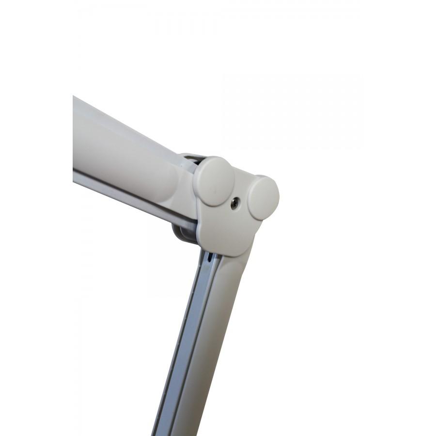 braccio regolabile della lampada da tavolo a tre diottrie