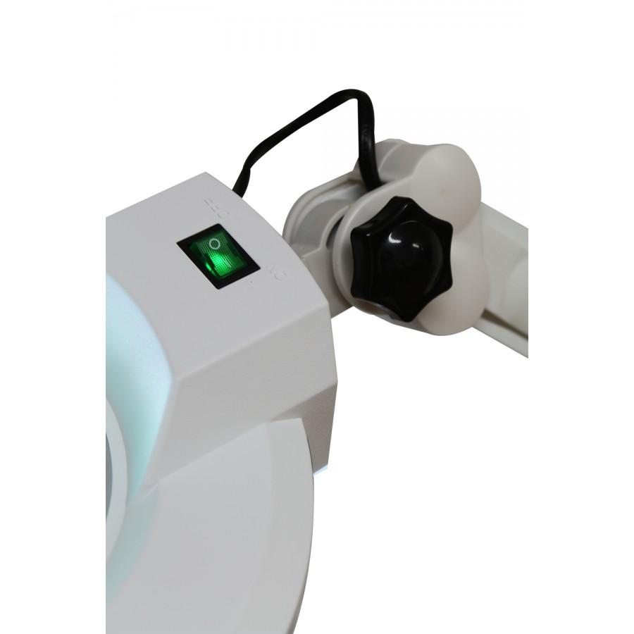 pulsante on-off della lampada a 3 diottrie, da tavola