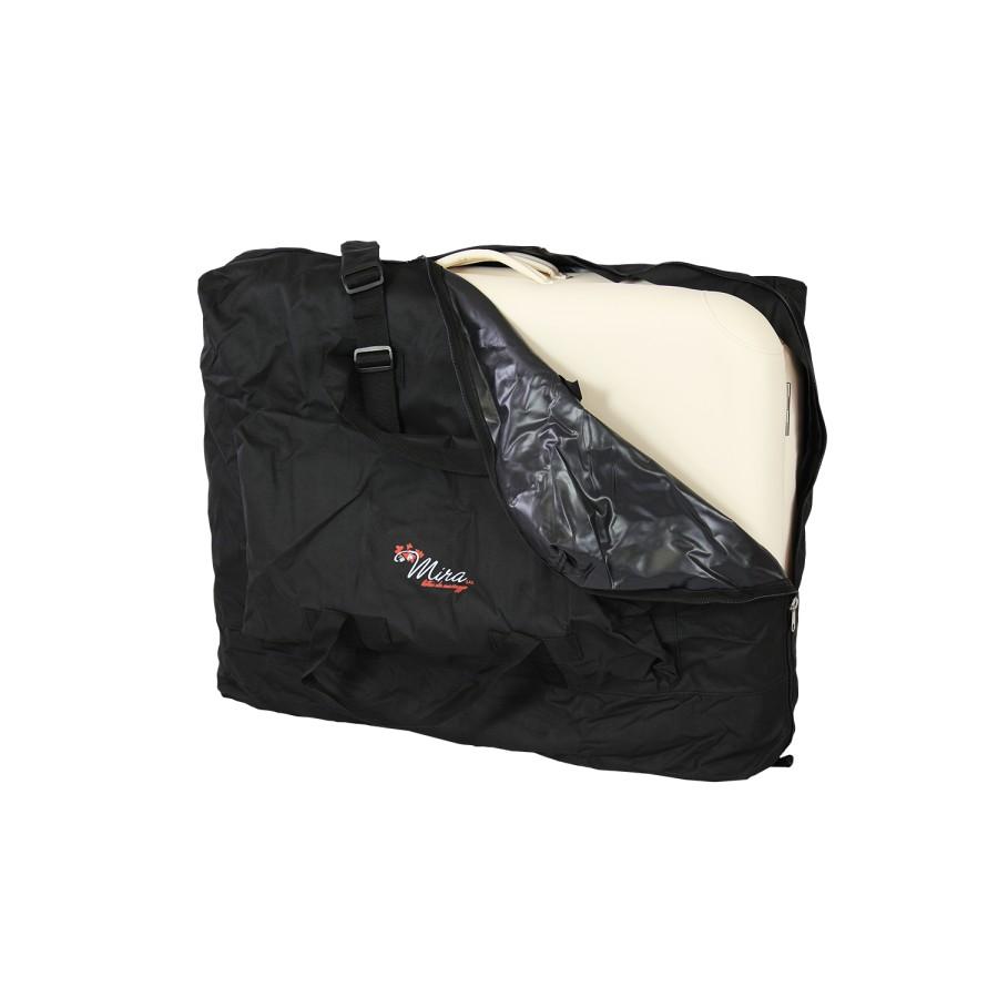 posizionamento del lettino pieghevole nella borsa da trasporto, alula hedy di mira sas