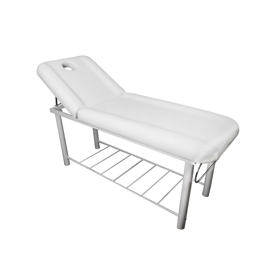 lettino da massaggio mod. onda bianco di mira benessere
