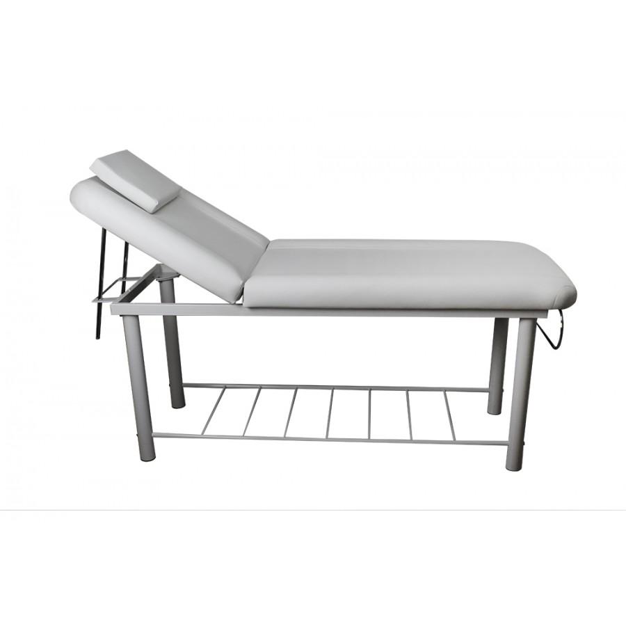 lettino da massaggio bianco, non portatile, modello onda