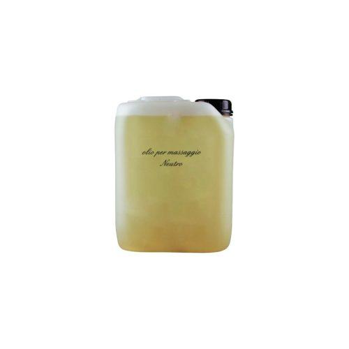 olio neutro in tanica da 5 litri