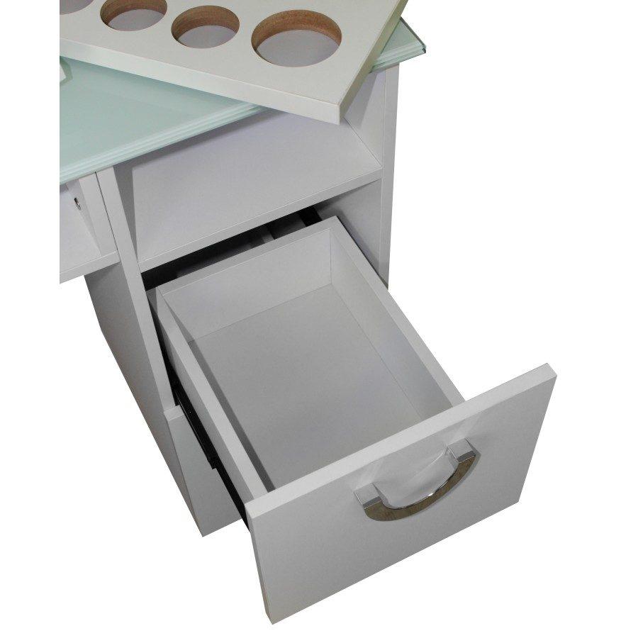 primo cassettone della seconda cassettiera, tavolo dp 78