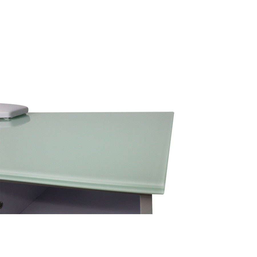 il vetro temperato del tavolo da manicure dp 78