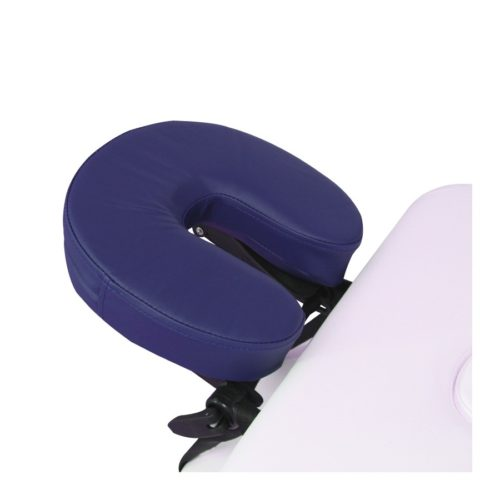 ciambella blu per poggiatesta lettino da massaggio