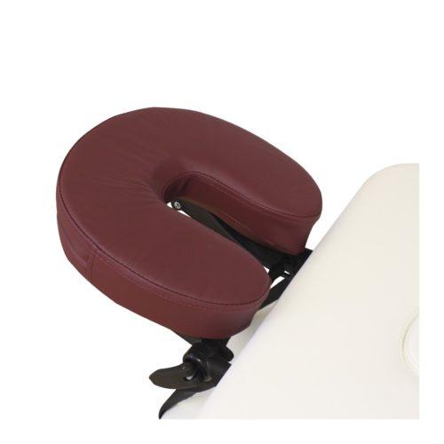ciambella bordeaux per poggiatesta lettino da massaggio