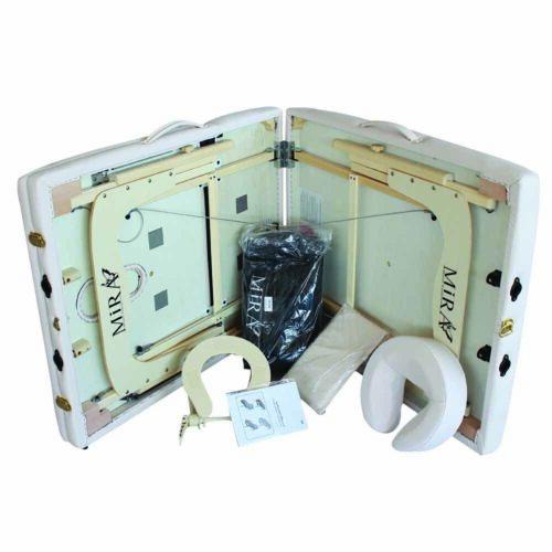 lettino new IV aperto con accessori, color beige, alta qualità