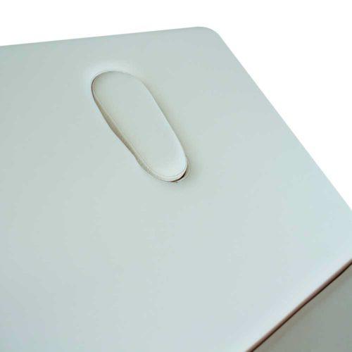 Lettino portatile con foro schienale, modello new iv