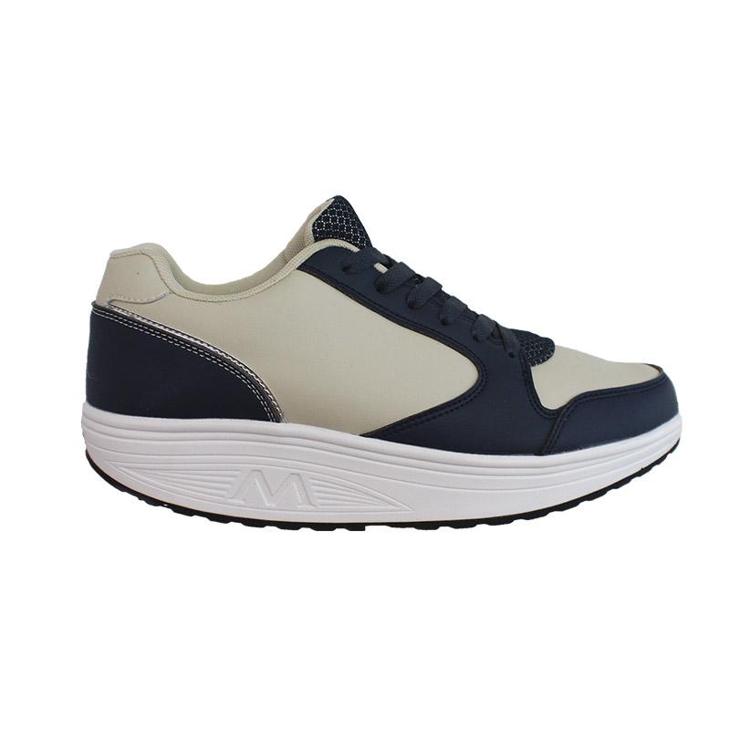 Scarpe BioErgonomiche, beige e blu WIN-022018
