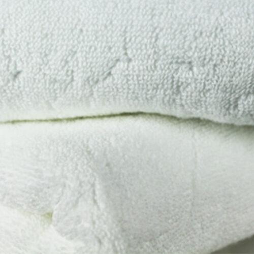 asciugamani bianche centro estetico, tessuto spugnoso 100x100 cotone