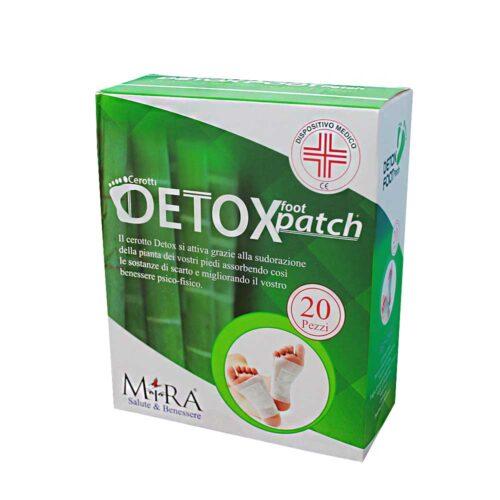 scatolo da 20 pezzi di cerotti detox, dispositivo medico