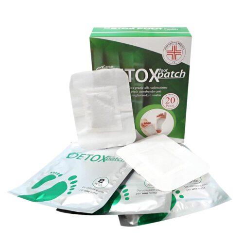 cerotti detox, scatola da 20 confezioni