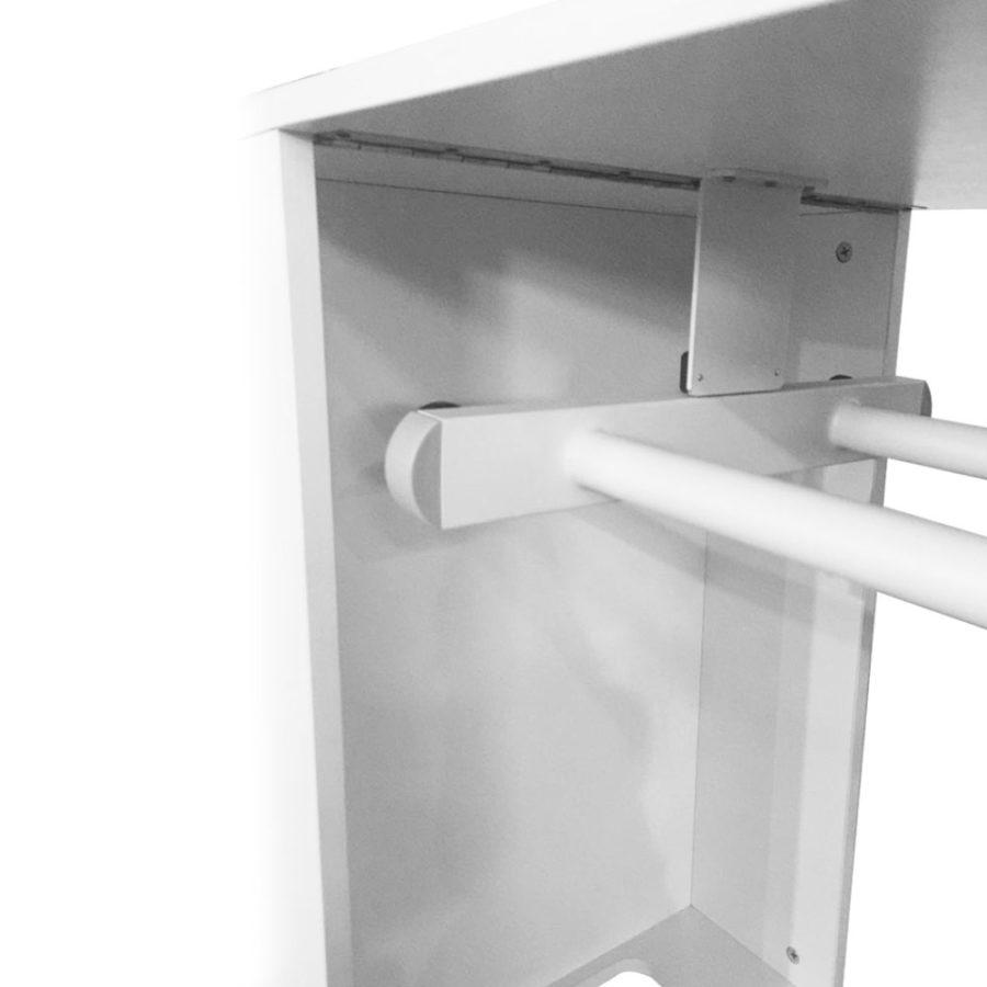 Tavolo da manicure richiudibile Dp-38,interno, gambe chiudibile