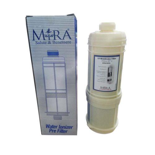 coppia di filtri per lo ionizzatore d'acqua alcalina mira 505