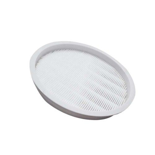 filtro hepa lavabile per aspiratore manicure, materiale resistente bianco