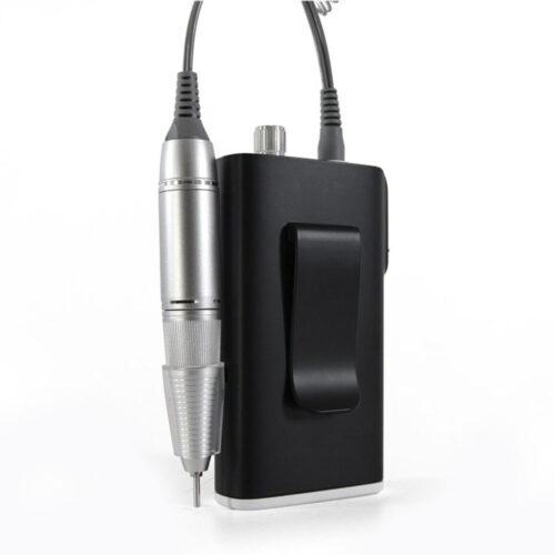 fresa portatile ricaricabile con attacco per cintura, mod POR2