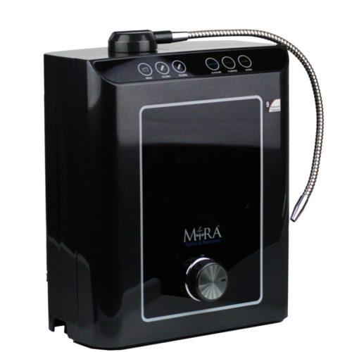ionizzatore d'acqua alcalina nero praim, per acqua acida e neutra