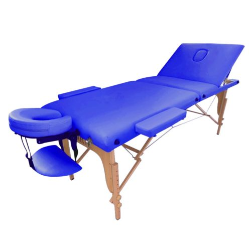 lettino new design clarissa blu, modello pieghevole per trasporto