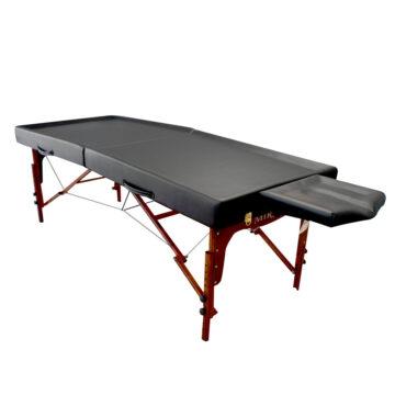 lettino da massaggio portatile per ayurvedica e olio, shirodara, massaggio ayurvedico