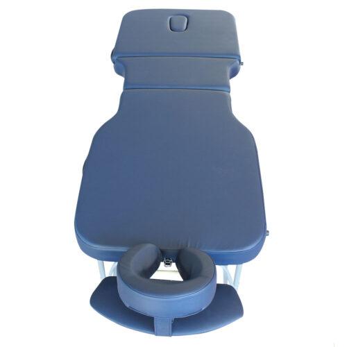 lettino gabriel vista dall'alto, alluminio, colore blu navy