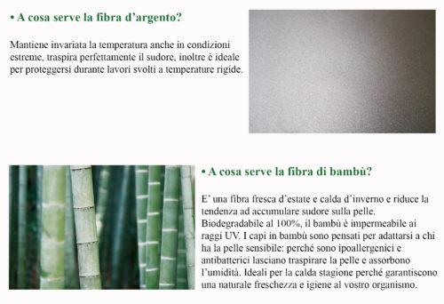Maglietta in Nanotecnologia e fibra d'argento e didascalie