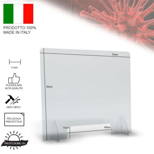 pannello plexiglass anti germi, trasparente, prevenzione