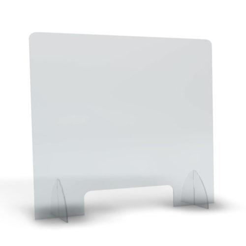 pannello plexiglass anti-schizzi trasparente