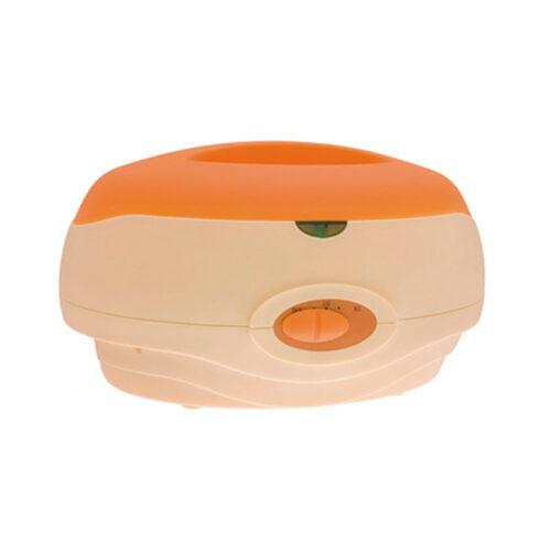 scalda paraffina manuale con guanti, color arancione