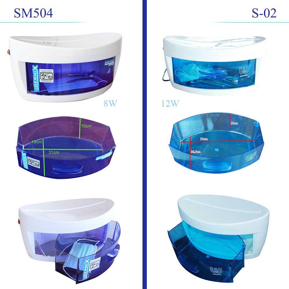 differenze tra i modelli di sterilizzatori ad uv