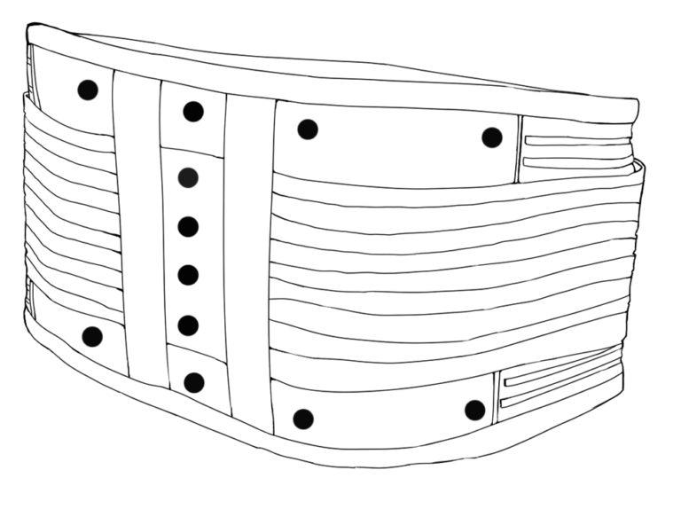 scheletro fascia biomagneica
